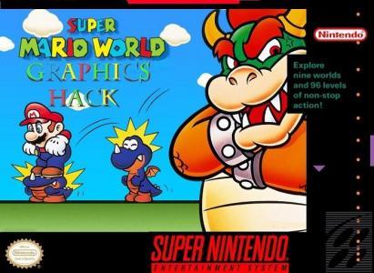 Super Mario Graphics Hack cover