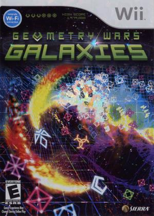 Geometry Wars: Galaxies\ Wii