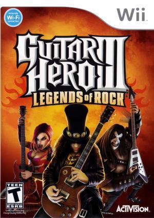 Guitar Hero III Legends of Rock (Jeu Seulement) / Wii