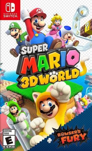 Super Mario 3D World + Bowser's Fury cover