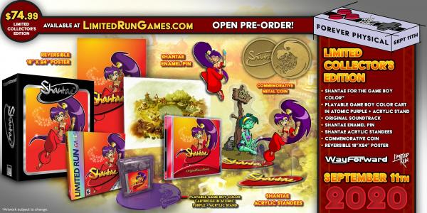Shantae GBC collectors edition (limited run)
