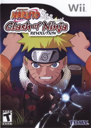 Naruto Clash Of Ninja Revolution/Wii