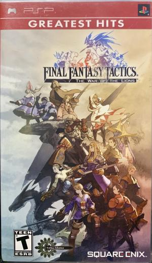 Final Fantasy Tactics: The War of the Lions [Greatest Hits]