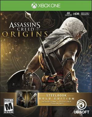 Assassins Creed Origins - Steelbook Gold Edition