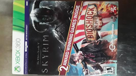 The Elder Scrolls V: Skyrim / Bioshock: Infinite bundle