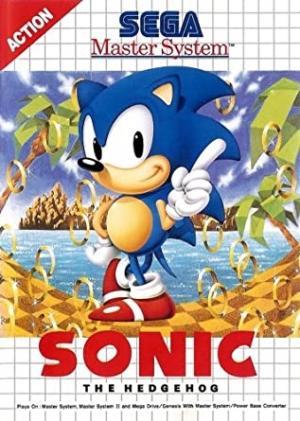 Sonic the Hedgehog (EU) cover