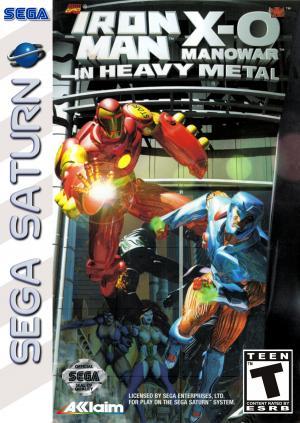Iron Man / X-O Manowar in Heavy Metal / Sega Saturn