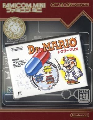 Famicom Mini: Dr. Mario cover