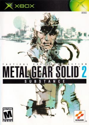 Metal Gear Solid 2 Substance/Xbox