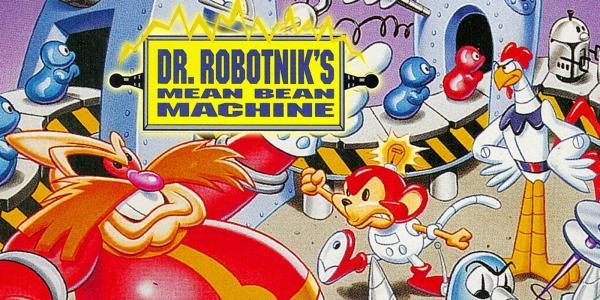 Dr. Robotnik's Mean Bean Machine (Virtual Console) cover