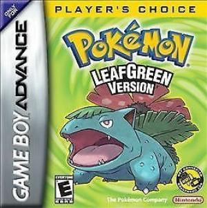 Pokemon LeafGreen Version [Player's Choice]