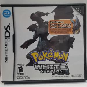 Pokemon White Version [Lucario Code Cover]