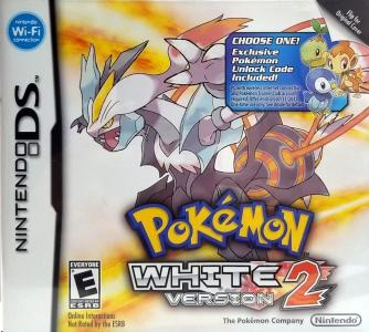 Pokemon white Version [Choose One Code Cover]