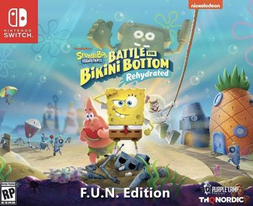 Spongebob Squarepants: Battle for Bikini Bottom - Rehydrated F.U.N. Edition