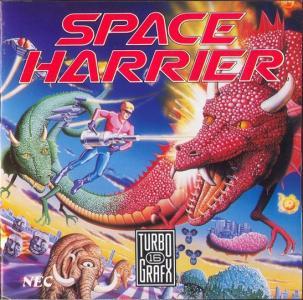 Space Harrier /Turbo Grafx-16