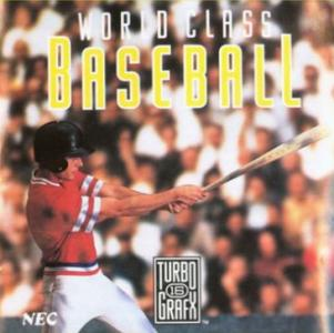 World Class Baseball /TurboGrafx-16