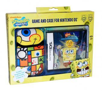 Spongebob's Atlantis Squarepantis [Game and Case for Nintendo DS]