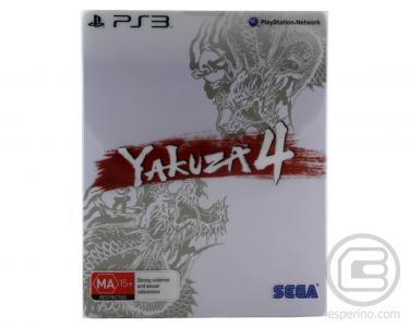 Yakuza 4 (Steelbook Edition Shiro)