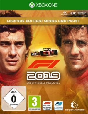 F1 2019 [Legends Edition: Senna and Prost]