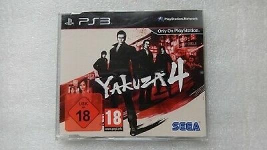 Yakuza 4 Promo Copy