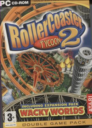 RollerCoaster Tycoon 2 + Wacky Worlds Expansion Pack