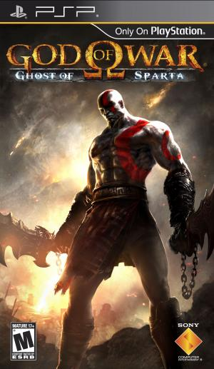 God Of War Ghost Of Sparta/PSP