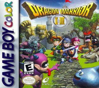 Dragon warrior I et II /Game Boy Color