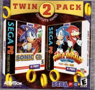 Sega PC Collection - Sonic CD, Sonic & Knuckles Collection cover
