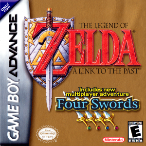 Legend Of Zelda A Link To The Past - Four Swords/GBA