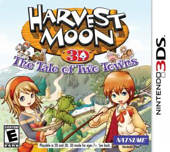 Harvest Moon 3D The Tale Of Two Towns/3DS
