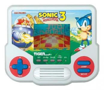 Tiger Electronics Sonic the Hedgehog 3 cover