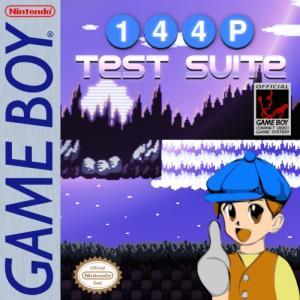 240p TestSuite Mini GameBoy