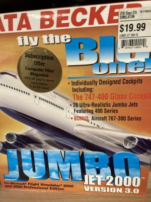 Jumbo Jet 2000 Version 3.0