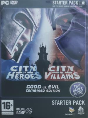 City of Heroes and City of Villains Starter Pack