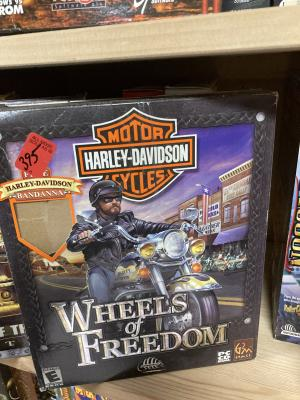 Harley Davidson Motor Cycles Wheels of Freedom