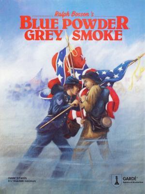 Blue Powder Grey Smoke