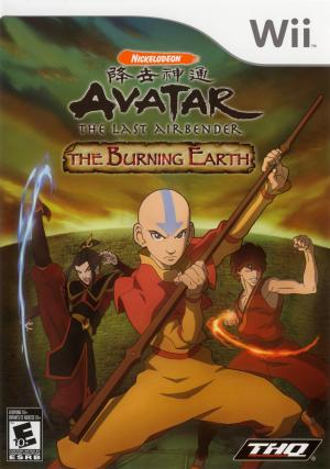 Avatar: The Last Airbender - The Burning Earth/Wii
