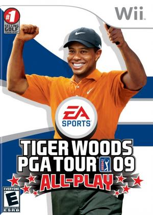 Tiger Woods PGA Tour 09 All-Play/Wii