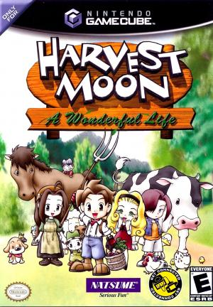 Harvest Moon A Wonderful Life/GameCube