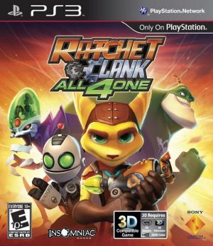 Ratchet & Clank all 4 one/PS3