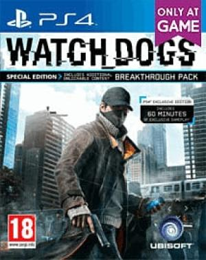 Watch Dogs Special Edition Breakthrough Pack