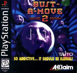 Bust-A-Move 2 Arcade Edition/PS1